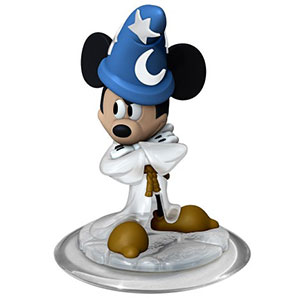 FIG: DISNEY INFINITY 1.0 CRYSTAL MICKEY SORCERERS APPRENTICE FIGURE (USED)